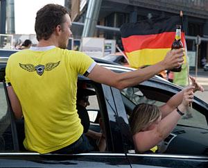 Feier: Deutschland: Agentinien 4:0