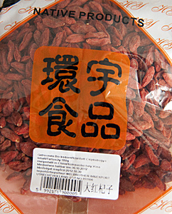 Getrocknete Goji-Früchte
