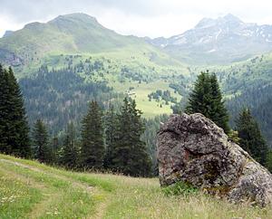 Alpenlandschaft Val d' Err