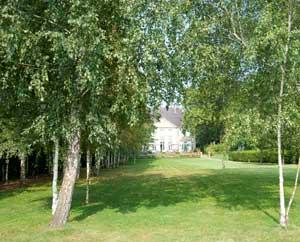 Sicht auf Liebermann-Villa vom Wannsee aus