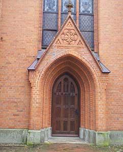 Eingangstür Kloster