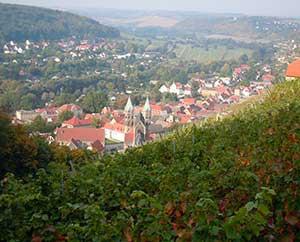 Freyburg Saale-Unstrut-Weinanbaugebiet