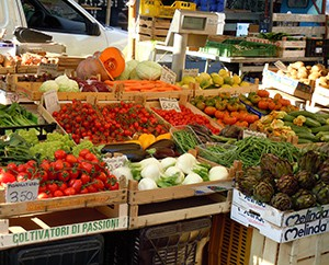 Regionales, saisonales Gemüse