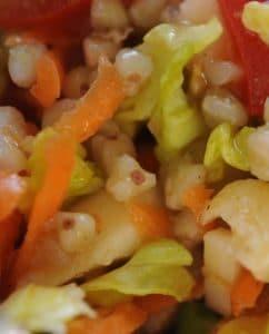 Buchweizen im Salat