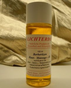Heilpflanzen-Öl aus Berberitze