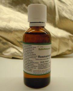 Rosmarin-Heilpflanzen-Öl für die Badewanne