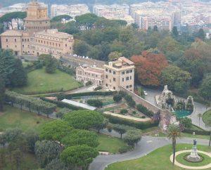 Heil- und Nutzgarten im Vatikan