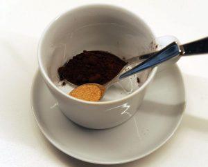 Echter Kakao und Zucker